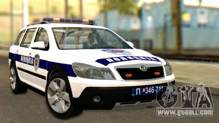 Skoda Octavia Scout Police for GTA San Andreas