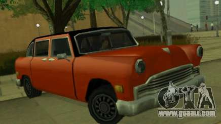 Cabbie Restyle for GTA San Andreas