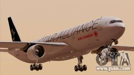 Airbus A330-300 Air Canada Star Alliance Livery for GTA San Andreas