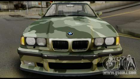 BMW M3 E36 Camo Drift for GTA San Andreas right view