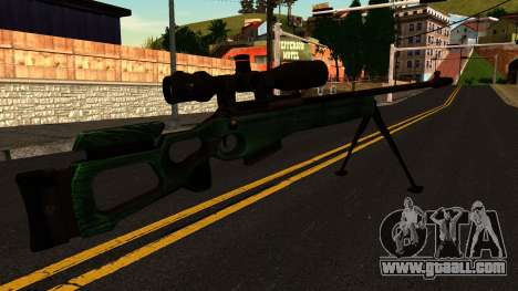 SV-98 with a Bipod and Scope for GTA San Andreas second screenshot