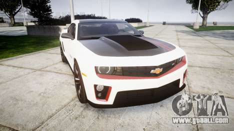 Chevrolet Camaro ZL1 2012 Redline for GTA 4
