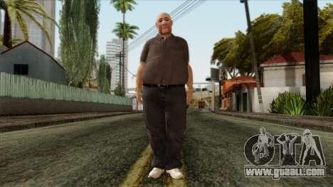 GTA 4 Skin 61 for GTA San Andreas