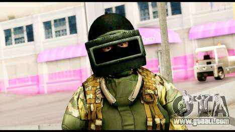 Support Troop from Battlefield 4 v2 for GTA San Andreas third screenshot