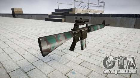 The M16A2 rifle [optical] warsaw for GTA 4 second screenshot