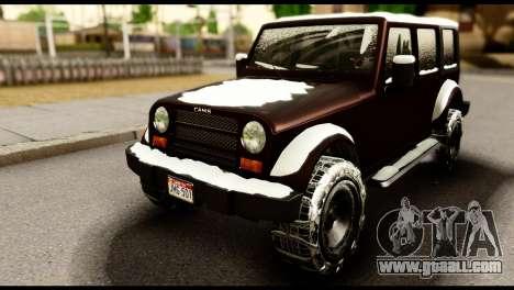 GTA 5 Mesa for GTA San Andreas