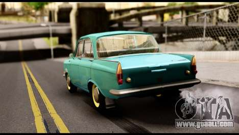 Moskvich 408 for GTA San Andreas left view
