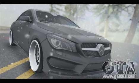 Mercedes Benz CLA 250 2014 for GTA San Andreas