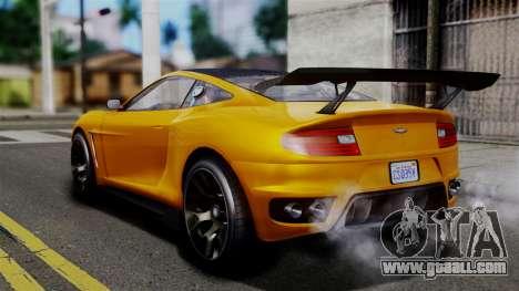GTA 5 Dewbauchee Massacro Racecar SA Mobile for GTA San Andreas left view