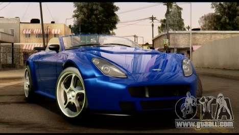 GTA 5 Dewbauchee Rapid GT Cabrio [HQLM] for GTA San Andreas