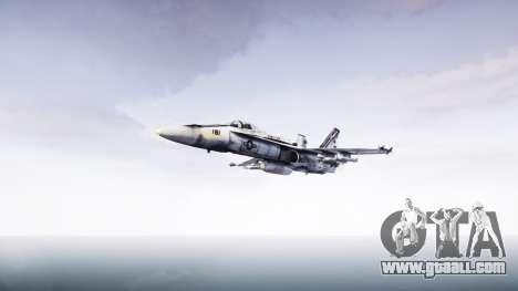 McDonnell Douglas FA-18 Hornet for GTA 4 back left view