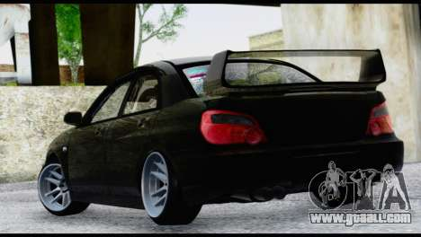 Subaru Impreza Hellaflush 2004 for GTA San Andreas left view