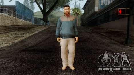GTA 4 Skin 47 for GTA San Andreas
