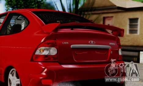 Lada Priora Sport for GTA San Andreas right view