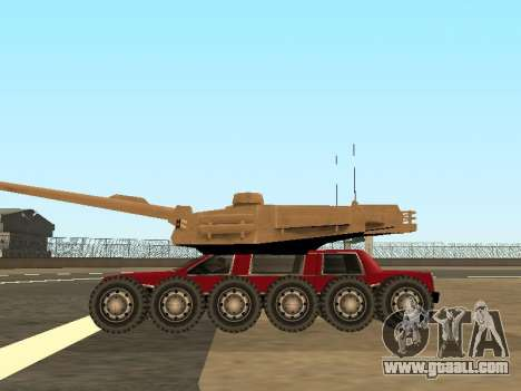 Tink Tank for GTA San Andreas right view