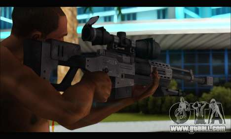 Raab KM50 Sniper Rifle From F.E.A.R. 2 for GTA San Andreas forth screenshot