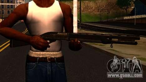 Shotgun from GTA 4 for GTA San Andreas third screenshot