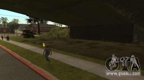 Transport tank trailer for GTA San Andreas second screenshot