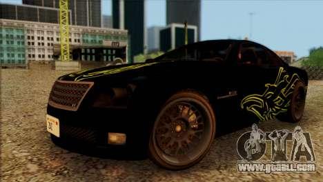 Schyster Fusilade Sport 1.0 (HQLM) for GTA San Andreas back view