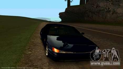 VAZ 21123 Bad Boy for GTA San Andreas back view