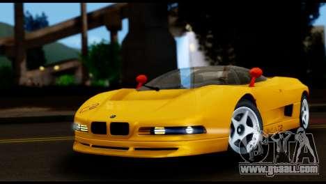 BMW Italdesign Nazca C2 1991 for GTA San Andreas
