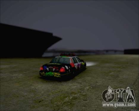 Ford Crown Victoria Ghetto Style for GTA San Andreas left view