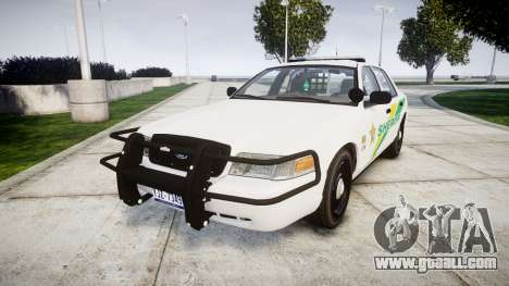 Ford Crown Victoria Martin County Sheriff [ELS] for GTA 4