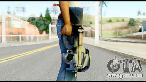 P90 from Metal Gear Solid for GTA San Andreas third screenshot