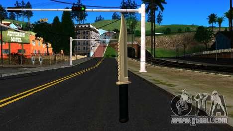 Knife from GTA 4 for GTA San Andreas second screenshot