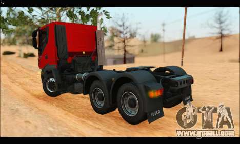 Iveco Trakker 2014 (IVF & ADD) for GTA San Andreas back left view