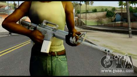 Colt Commando from Max Payne for GTA San Andreas third screenshot