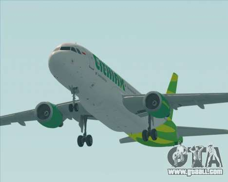 Airbus A320-200 Citilink for GTA San Andreas engine