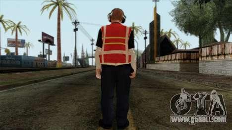 GTA 4 Skin 17 for GTA San Andreas second screenshot