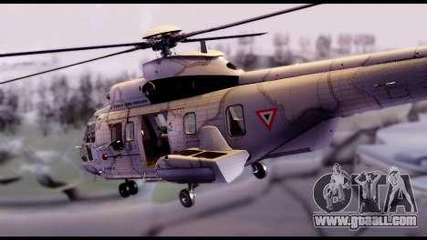 EC-725 Super Cougar for GTA San Andreas left view