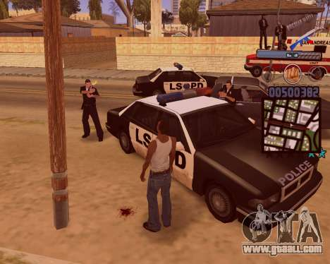 C-HUD Russian Mafia for GTA San Andreas fifth screenshot