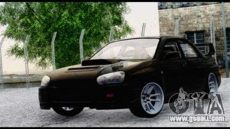 Subaru Impreza Hellaflush 2004 for GTA San Andreas