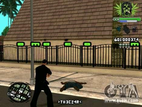 C-HUD Marihaus for GTA San Andreas fifth screenshot