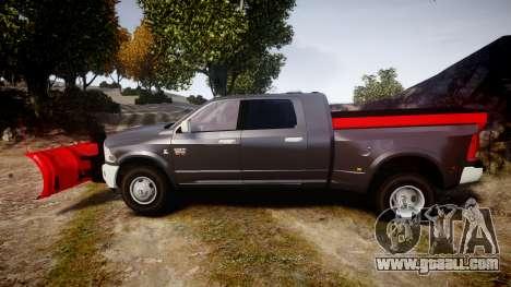 Dodge Ram 3500 Plow Truck [ELS] for GTA 4 left view