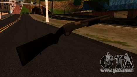 Black MP-133 Silver for GTA San Andreas second screenshot