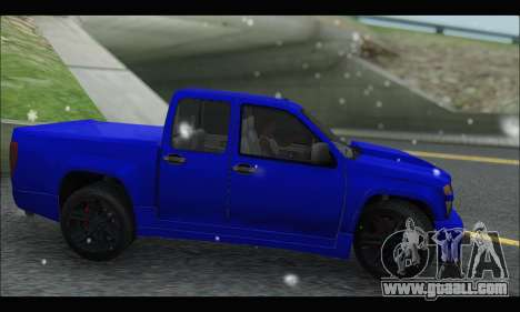 Chevrolet Colorado Codered 2004 for GTA San Andreas left view