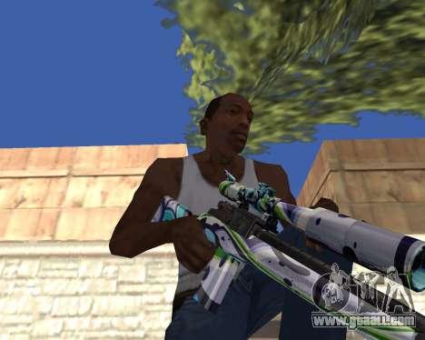Graffity weapons for GTA San Andreas forth screenshot