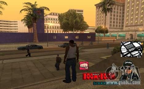 C-HUD Boom-Boom for GTA San Andreas