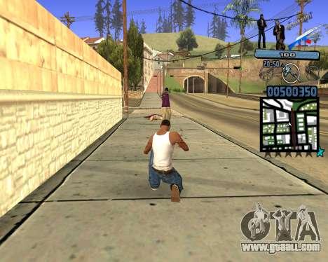 C-HUD Russian Mafia for GTA San Andreas