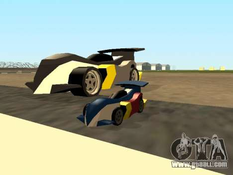 RC Bandit (Automotive) for GTA San Andreas upper view