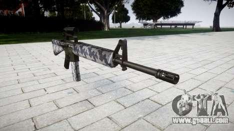 The M16A2 rifle [optical] siberia for GTA 4