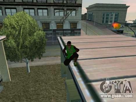 Fam3 Skin for GTA San Andreas fifth screenshot