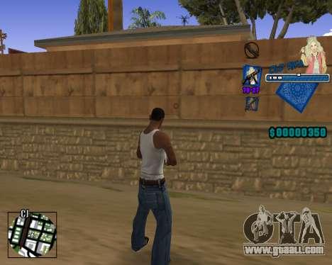 C-HUD Old Rifa for GTA San Andreas