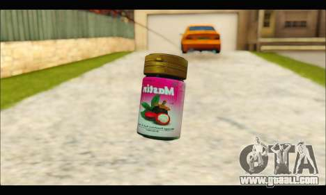 Mastin Good Grenade for GTA San Andreas