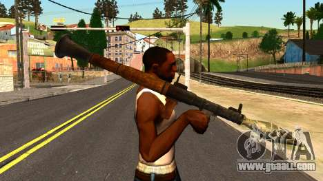 Rocket Launcher from GTA 4 for GTA San Andreas third screenshot