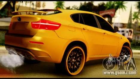 BMW X6 Hamann for GTA San Andreas left view